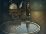Il sogno del vagabondo (olio su tela cm.70x80)