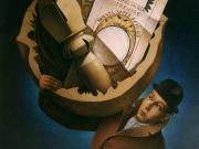 Il bagaglio del vagabondo-Italia(olio su tela 90x100)