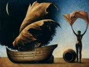 L'orcio di Eolo-Grecia (olio su tela  cm.90x100) Europa