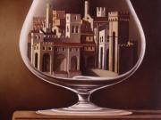 Calice d'autore (olio su tela cm.70x60)