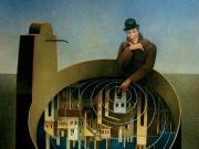 Il sogno del vagabondo (olio su tela cm.80x70)