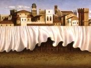 La Citta' ritrovata (olio su tela cm.50x100) 1