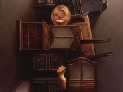 Senza titolo (olio su tela cm.90x80)