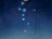 Collezionisti di stelle (olio su tela cm.60x40)
