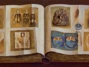 Il Taccuino di S.E. (olio su tela cm .35x80 dittico)