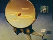 Il ladro di tramonti (olio su tela cm.80x70)