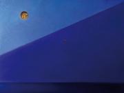 Vol de nuit (olio su tela cm.120x150)