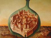 La Citta' ritrovata (olio su tela cm.35x40)