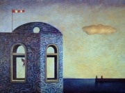 La casa del Marinaio (olio su tela cm.40x60)
