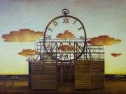 La fabbrica del tempo 1 (olio su tela cm.40x60)