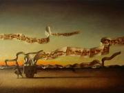 Le Citta' del vento (olio su tela cm.40x60)