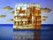 L'isola fragile (olio su tela cm.60x80)