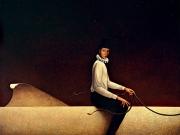 Foto-ricordo del Capitano(olio su tela cm.60x70)