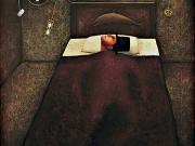 La Stanza del Capitano-Il sonno del Capitano (olio su tela cm.80x70)