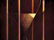 La clessidra (olio su tela cm.90x30)