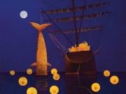 Fuochi notturni (olio su tela cm.70x80)