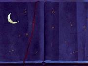 Il Libro della Notte (olio su tavola cm. 40x80)
