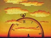 Il Tempo che arriva(olio su tela cm 80x70)
