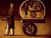 Il sogno del Vagabondo (olio su tela cm.60x70)