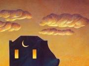 La Casa della Notte (olio su tela cm.60x70)