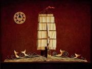 Libro di Mare(olio su tela cm. 50x60)