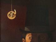 Lo sguardo del Capitano (olio su tela cm.40x35)