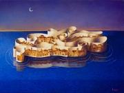 L'Isola di Cartiglia (olio su tela cm.60x80)