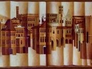 Libro delle Citta'(olio su tela cm.60x90)
