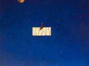 L'equilibrista delle stelle (olio su tela cm 80x70)