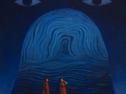 L'Anima e l'Acqua (olio su tela cm.60x50)