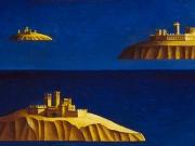 Arcipelago(olio su tavola cm.40x35)