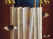 Le ore segrete (olio su tavola cm.80x40)