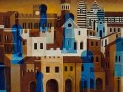Città e segreti (olio e tm su tela cm. 50x60)suDSCF5530 (1)