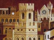 La Città ritrovata (olio su tela cm.70x60)