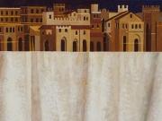 La Città rivelata (olio su tavola, cm.30x40)