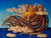 Le Città del Cielo(tempera e olio su tavola cm.50x60)