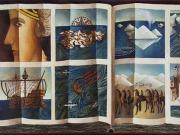 La Storia della Querina (olio su tavola, cm. 50x90)