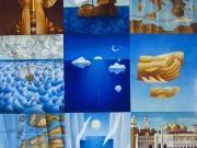 La Storia della Querina (olio su tela cm.120x100)