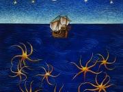 Stelle di mare stelle di cielo (olio su tela cm.60x50)
