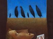 L'inverno di Kant (olio su tavola cm.50x40)
