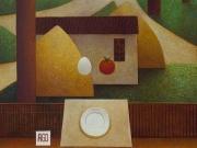 Miricordo-Rito d'estate(olio su tavola cm.50x60)