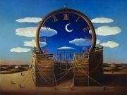 La fabbrica del Tempo-le ore della Notte (tempere e olio su tela cm. 60x80)