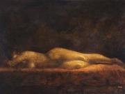 Nudo (olio su tavola cm.60x90)