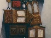 Ritrovamenti (olio su tavola cm.60x90)