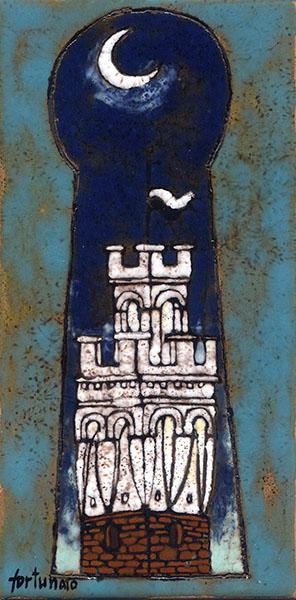Segreti (smalti ceramici; cm.20x10)