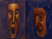 olio su tavola cm 60x40 (due dipinti)