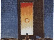 Il Cercatore di tramonti (acquaforte-acquatinta mm.150x110)