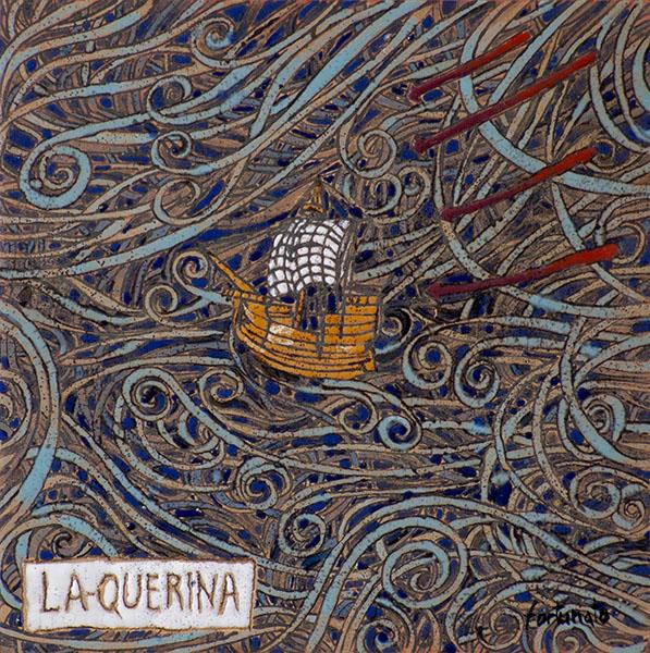 La Querina (cuerda seca-smalti ceramici)