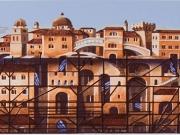 Citta' ritrovata ( Serigrafia cm.35x95)