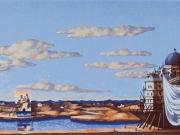 La Nave dei Poeti (serigrafia cm.35x95)